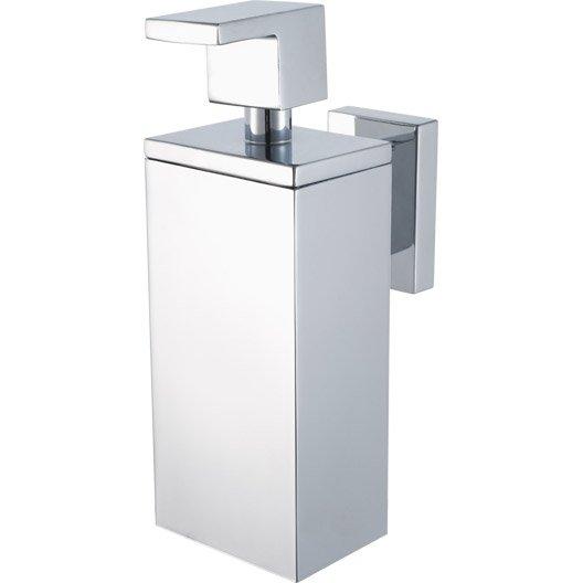 Distributeur de savon edge chrom leroy merlin - Distributeur savon integre plan travail ...