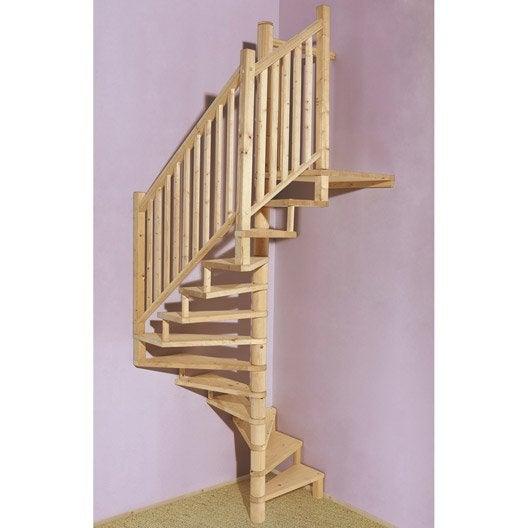 rampe pour escalier bellac sapin leroy merlin. Black Bedroom Furniture Sets. Home Design Ideas