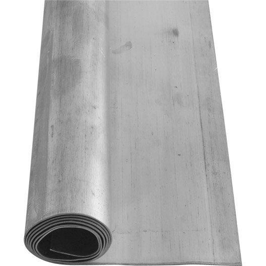 rouleau de plomb scover plus gris, l.90 mm x l.5 m | leroy merlin