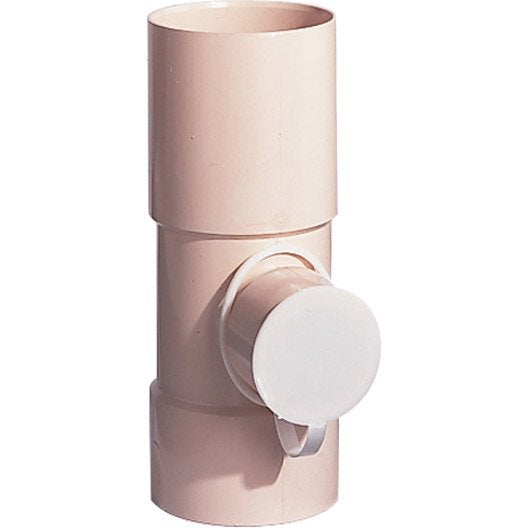 Collecteur d 39 eau diam 80mm en pvc blanc leroy merlin - Collecteur eau de pluie leroy merlin ...