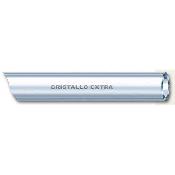 Tuyau transparent souple nu GEOLIA Cristal L.5 m Diam.6 mm