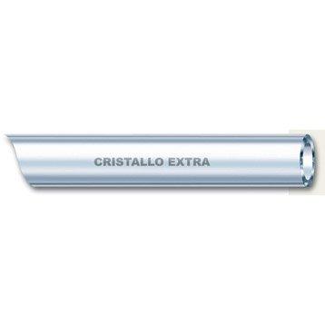 Tuyau transparent souple nu GEOLIA Cristal L.5 m Diam.8 mm