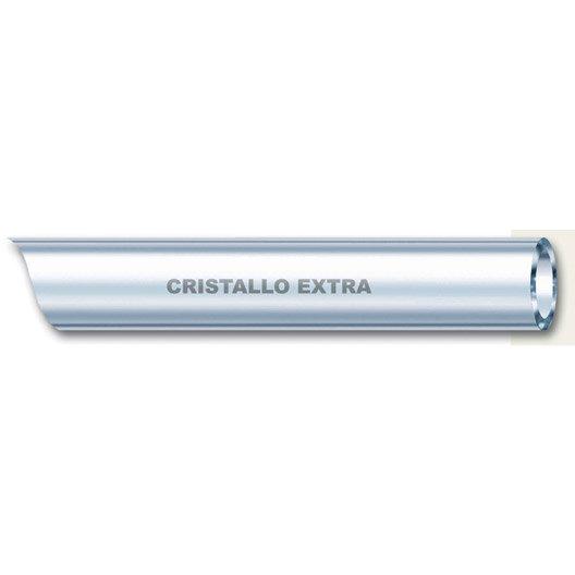 Tuyau transparent souple nu Cristal L.5 m Diam.10 mm