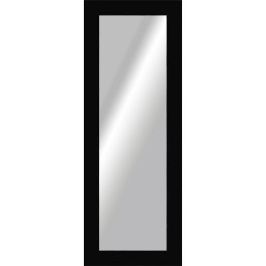 Miroir okaasan noir x cm leroy merlin for Miroir 40x140