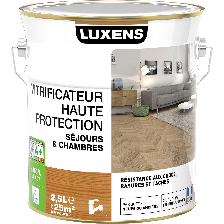 vitrificateur parquet luxens ch ne clair 2 5 l leroy. Black Bedroom Furniture Sets. Home Design Ideas