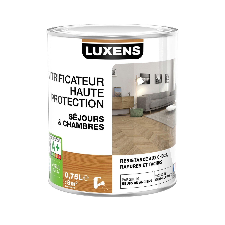 Vitrificateur parquet haute protection luxens incolore 0 - Vitrificateur parquet leroy merlin ...