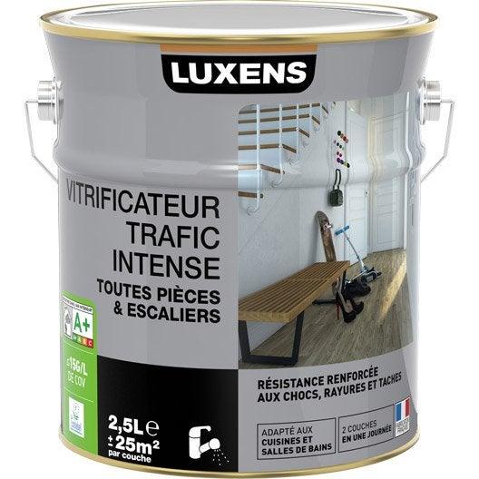 Vitrificateur Parquet Luxens, Chêne Clair, 2.5 L | Leroy Merlin