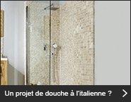 Un projet de douche à l'italienne