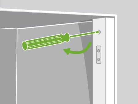 comment installer des portes de placards pivotantes leroy merlin. Black Bedroom Furniture Sets. Home Design Ideas