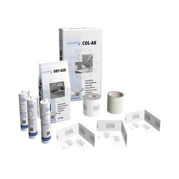 Kit de montage pour douche, LUX ELEMENTS
