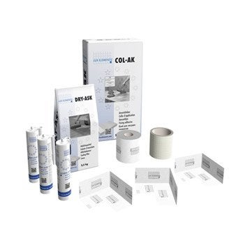 Kit de montage pour douche, LUX ELEMENTS