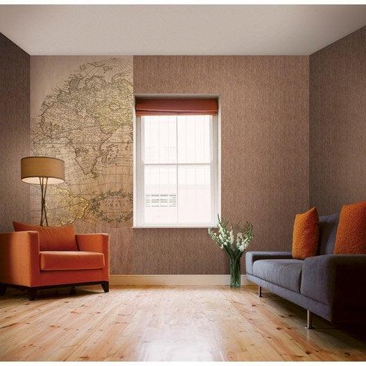 papier peint kaki intiss italian color leroy merlin. Black Bedroom Furniture Sets. Home Design Ideas