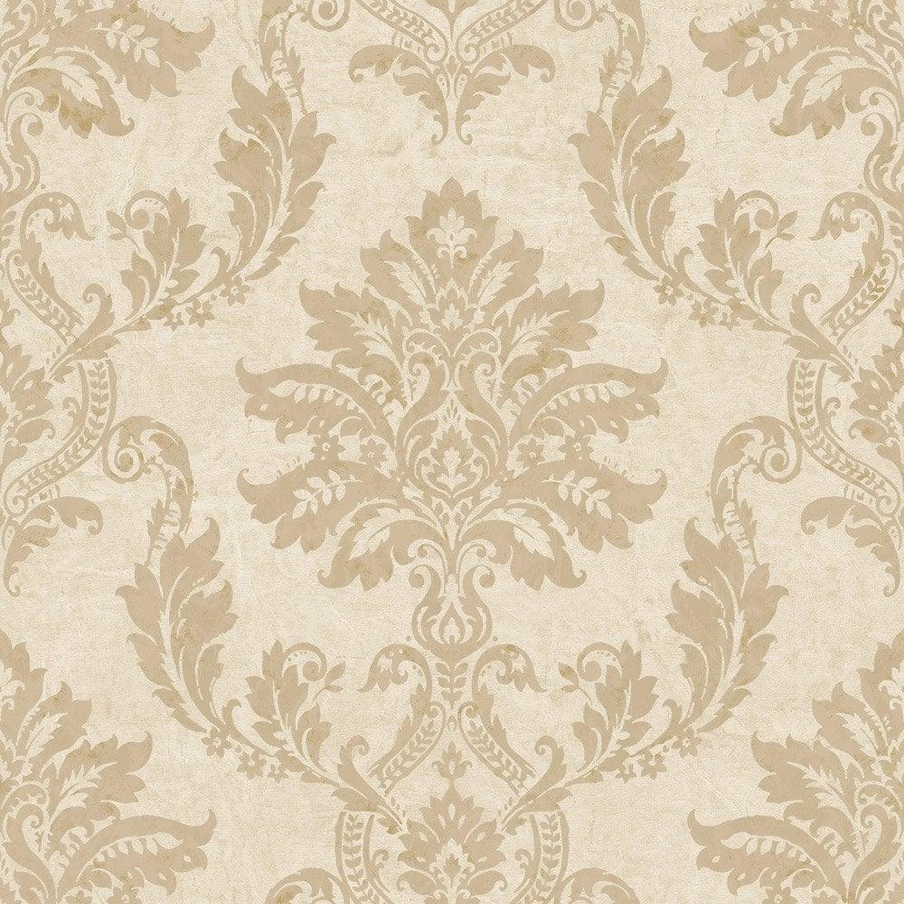papier peint classic beige et dor intiss jade leroy merlin. Black Bedroom Furniture Sets. Home Design Ideas
