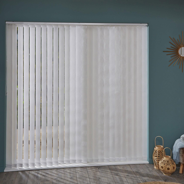 rideaux lamelles verticales cheap quuest ce quuun store lamelles verticales with rideaux. Black Bedroom Furniture Sets. Home Design Ideas