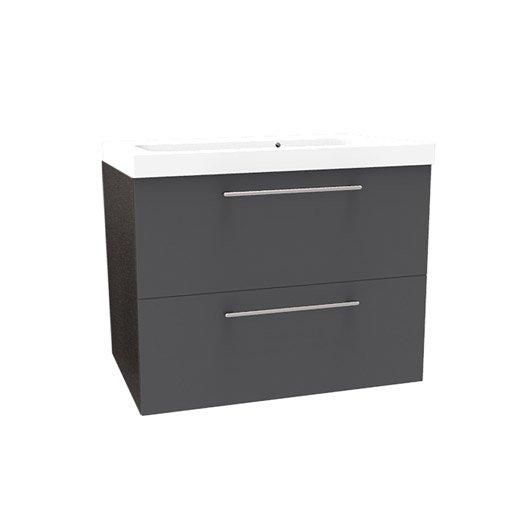 meuble vasque taupe remix leroy merlin. Black Bedroom Furniture Sets. Home Design Ideas