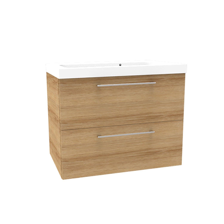 meuble salle de bain chene clair good charmant meuble. Black Bedroom Furniture Sets. Home Design Ideas