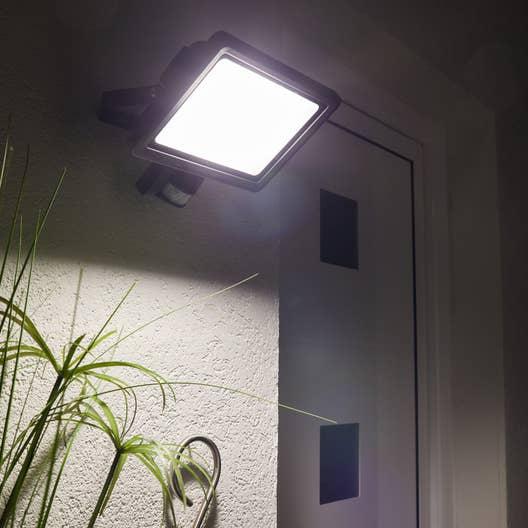 projecteur d tection ext rieur yonkers led int gr e 50 w 3750 lm inspire leroy merlin. Black Bedroom Furniture Sets. Home Design Ideas