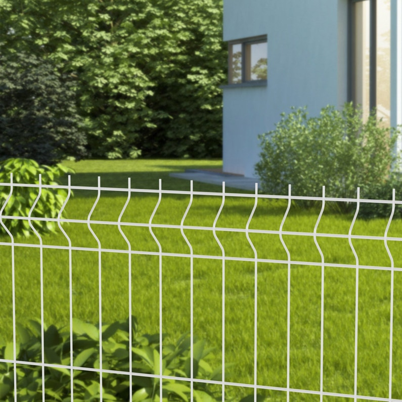 clôture rigide leroy merlin  grillage rigide naterial