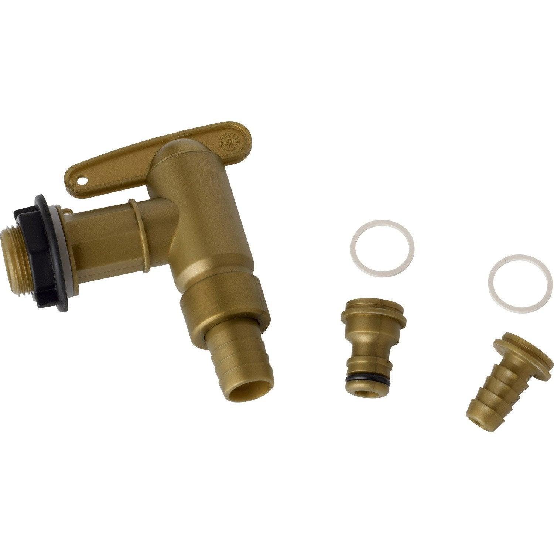 robinet de cuve garantia 504044 - Robinet Pour Recuperateur D Eau De Pluie