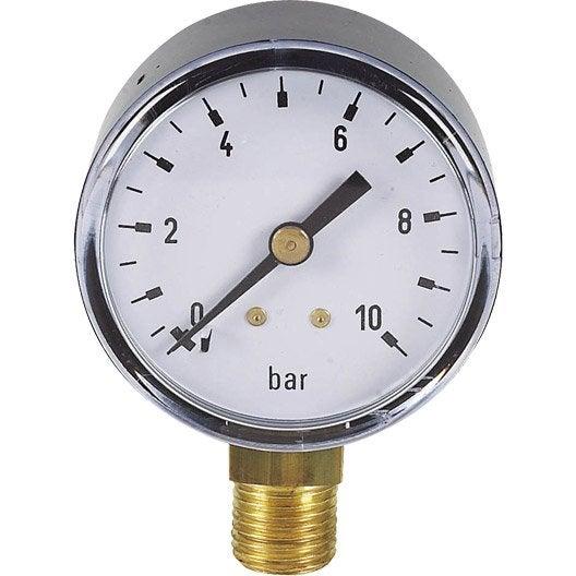 leroy merlin 67314121 0 usage du produit lecture de la pression