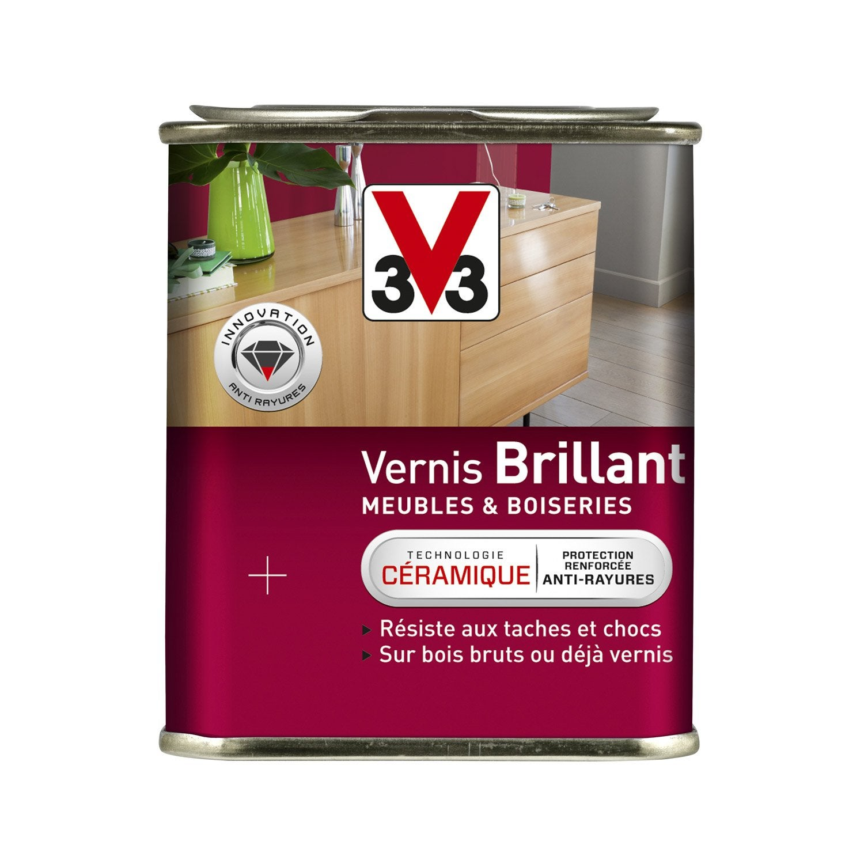 Vernis Meuble Et Objets V33 0 25 L Incolore Leroy Merlin # Vernir Un Meuble En Palette