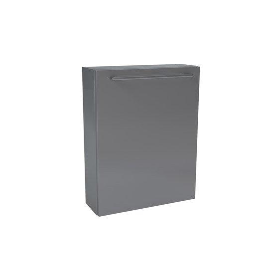 Caisson meuble bas SENSEA Remix gris galet n°3, l45xH57.7xP14cm, 1