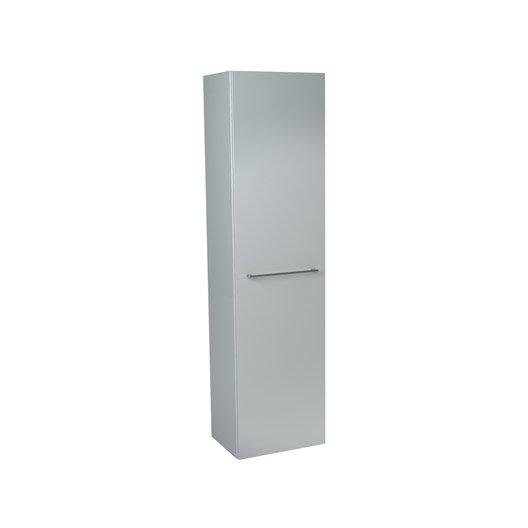 colonne l45 x h1729 x p33 cm blanc - Etagere Salle De Bain Leroy Merlin