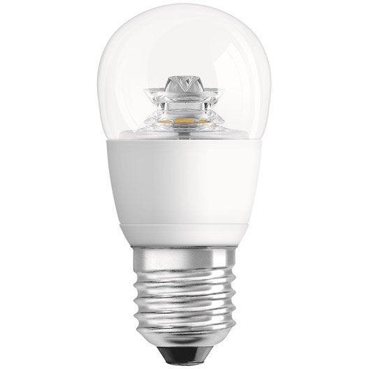 ampoule sph rique led 6w 470lm quiv 40w e27 2700k osram leroy merlin. Black Bedroom Furniture Sets. Home Design Ideas