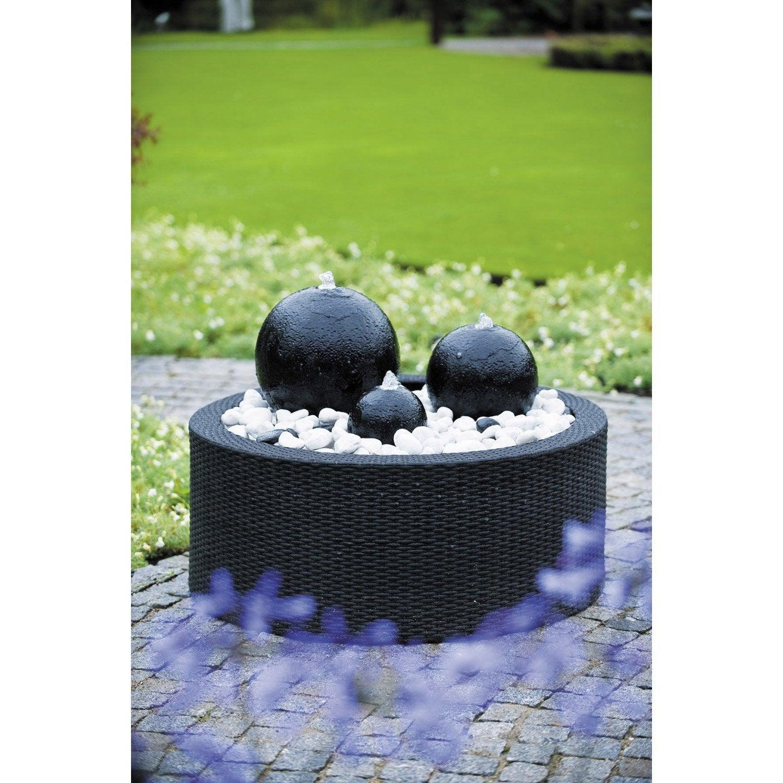 Contour de fontaine de jardin en plastique UBBINK Victoria, 150 l ...