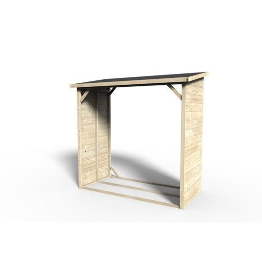 b cher bois naturelle x x cm leroy merlin. Black Bedroom Furniture Sets. Home Design Ideas