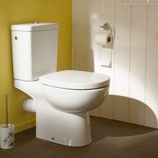 wc poser wc abattant et lave mains toilette leroy merlin. Black Bedroom Furniture Sets. Home Design Ideas