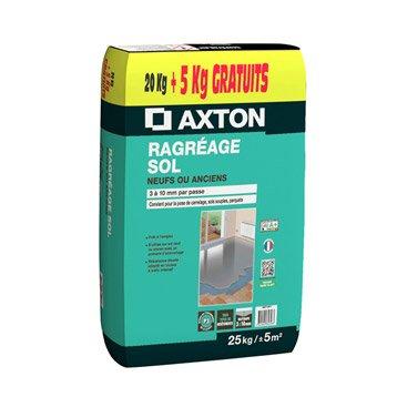 Ragréage sol neuf ou ancien AXTON, 25 kg