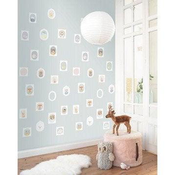 Papier peint tapisserie papier peint intiss et vinyle leroy merlin - Leroy merlin papier peint enfant ...
