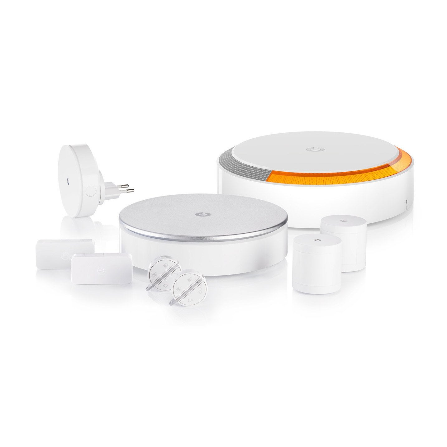 Merveilleux Alarme Maison Sans Fil Connectée Home Alarm Xl MYFOX ...