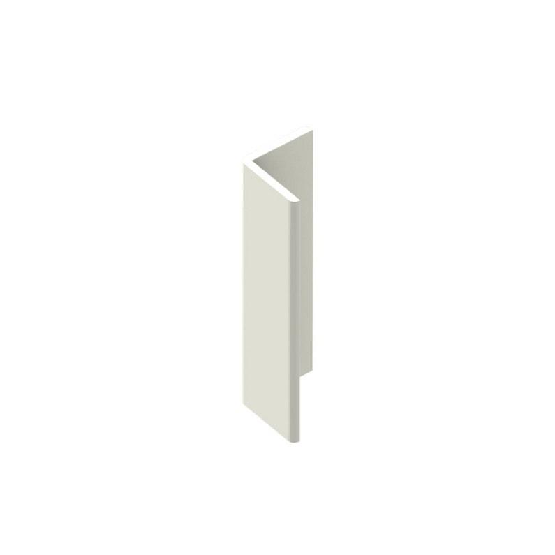 Cornière De Toiture Pvc Cellulaire 50x50 Mm Blanc Pvc