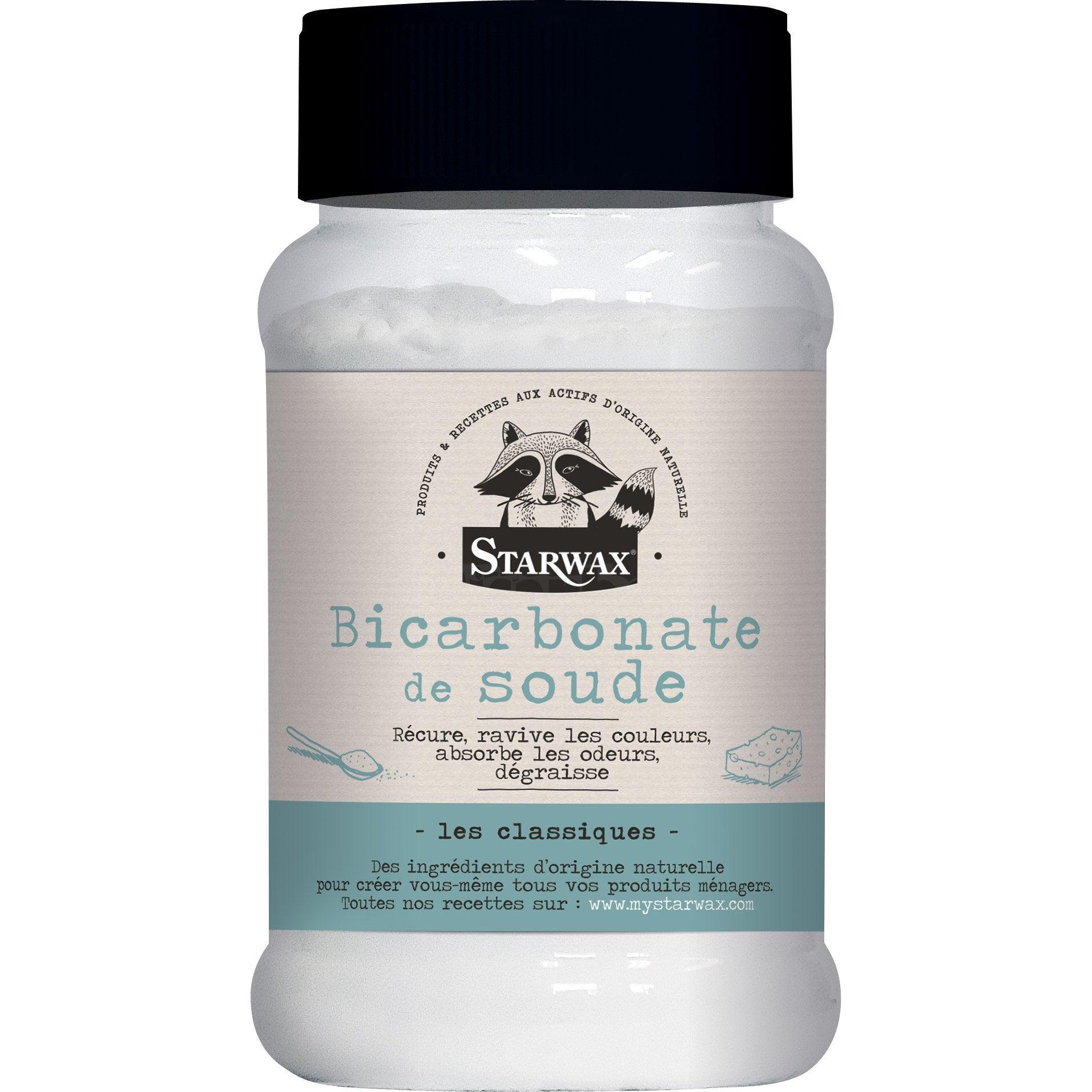 Bicarbonate De Soude Pour Terrasse bicarbonate de soude poudre multisurface starwax 500 gr
