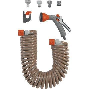 Tuyau d'arrosage equipé GARDENA 4647-20 L.10 m Diam.9.2 mm