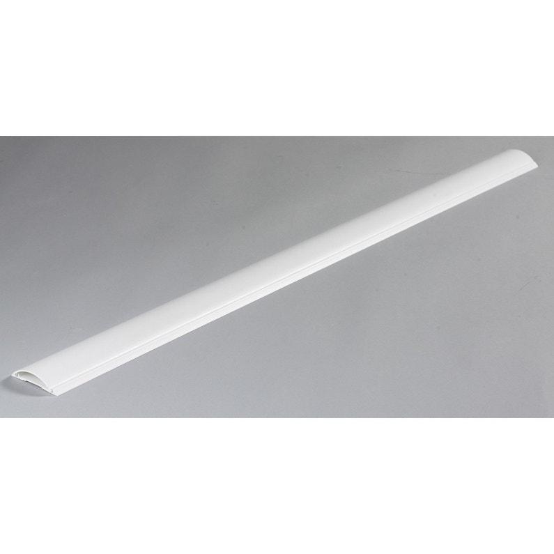 Cache Câble Blanc Pour Moulure H100 X P7 Cm