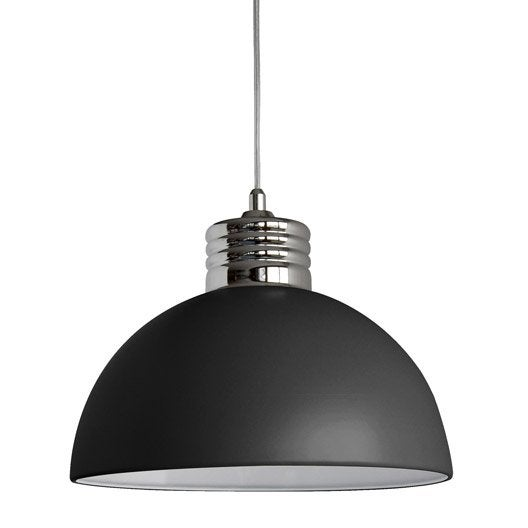 Lustre et suspension leroy merlin for Suspension moderne noir