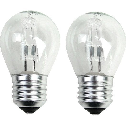 ampoule sph rique halog ne 30w 410lm quiv 40w e27 2800k lexman leroy merlin. Black Bedroom Furniture Sets. Home Design Ideas