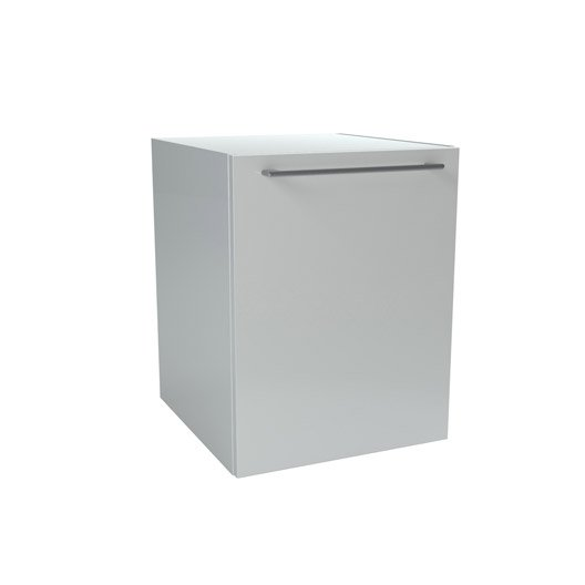 caisson meuble bas sensea remix blanc cm 1 porte leroy merlin. Black Bedroom Furniture Sets. Home Design Ideas