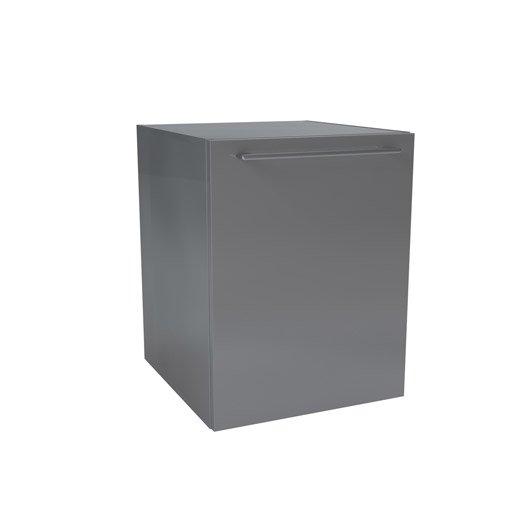 caisson meuble bas x x cm gris remix leroy merlin. Black Bedroom Furniture Sets. Home Design Ideas