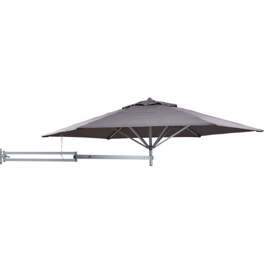 parasol mural easysol taupe 5 m leroy merlin. Black Bedroom Furniture Sets. Home Design Ideas