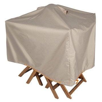 Housse de protection pour table et chaises innov 39 axe 80 x - Housse de protection salon de jardin leroy merlin ...