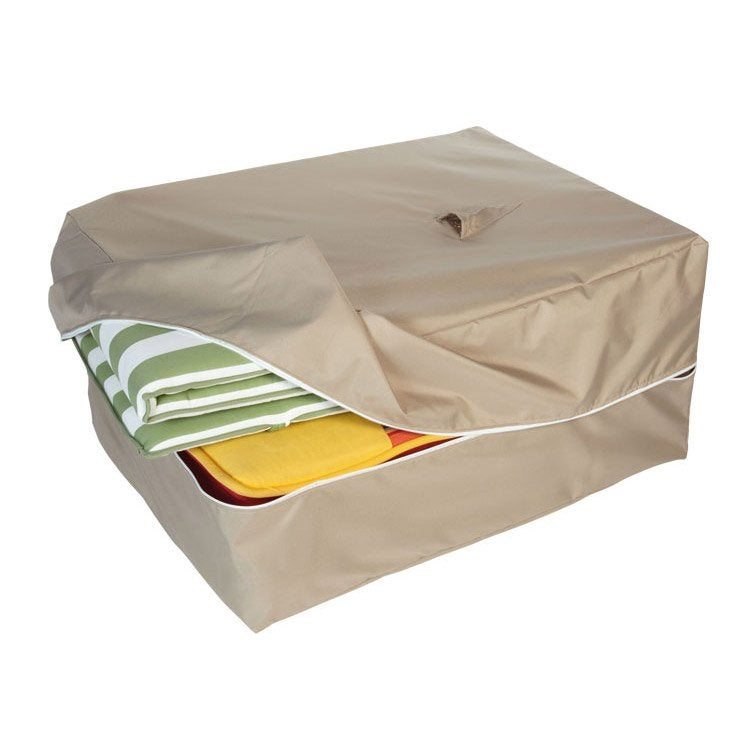 Housse de protection pour coussins INNOV\'AXE L.20 x l.60 x H.200 cm ...