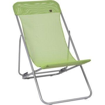Bain de soleil transat hamac chaise longue leroy merlin - Transat de jardin ...