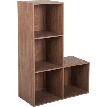 etag re et meuble de rangement multikaz leroy merlin. Black Bedroom Furniture Sets. Home Design Ideas