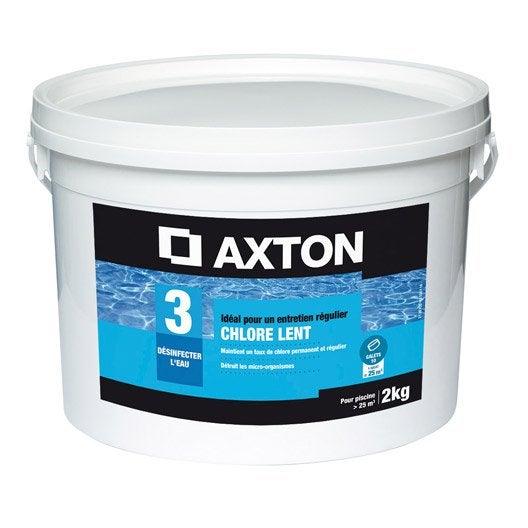 chlore lent piscine axton galet 2 kg leroy merlin. Black Bedroom Furniture Sets. Home Design Ideas