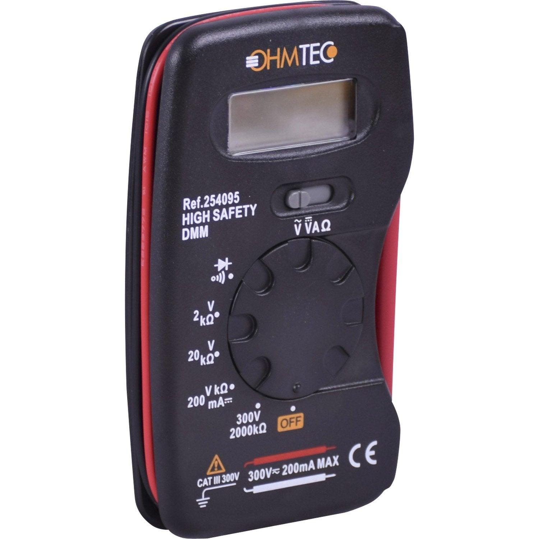 Multimètre Ohmtec 300 V