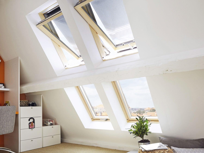 Créer des fenêtres sous combles
